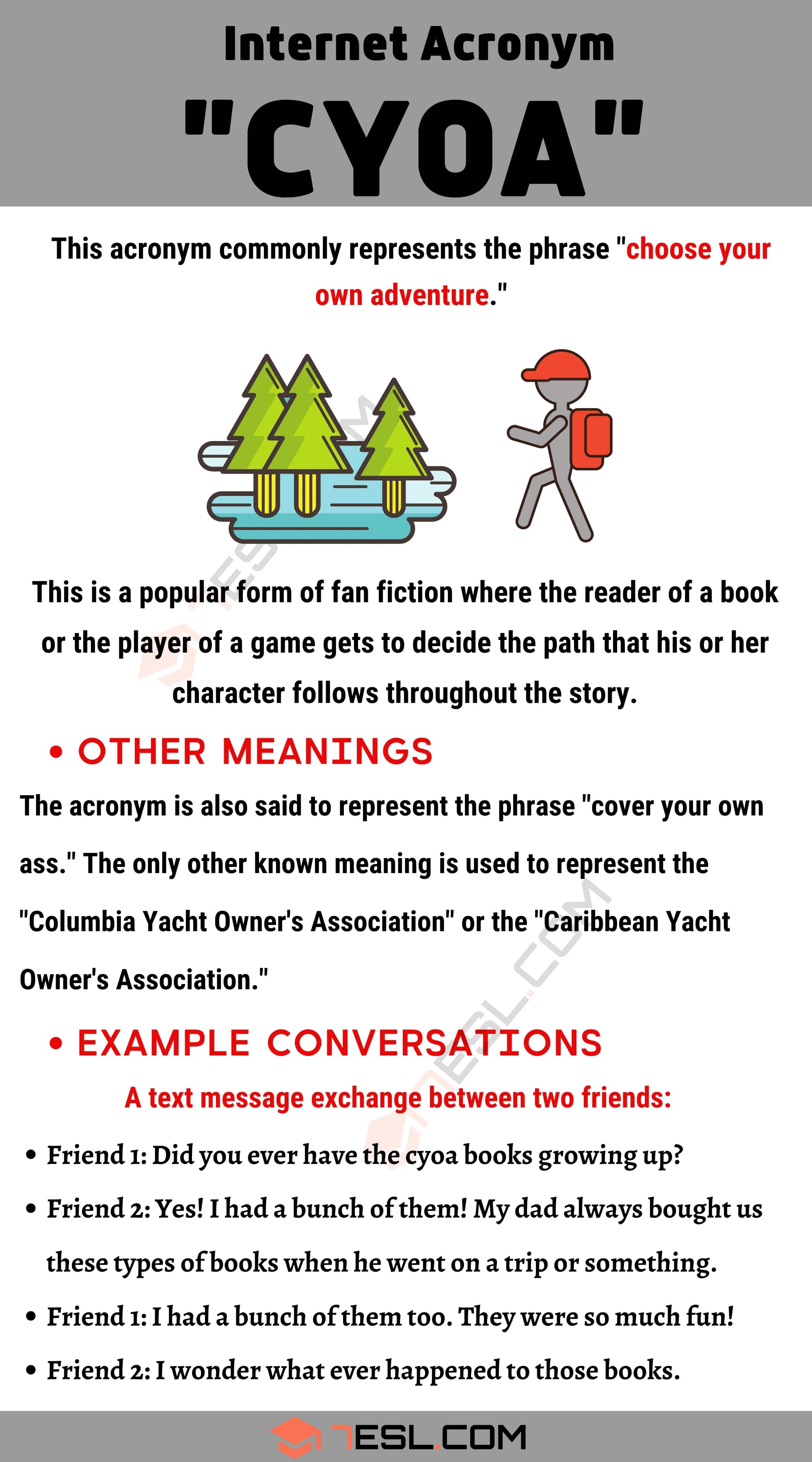 """CYOA Meaning: The Definition and Example Conversations of """"CYOA"""""""