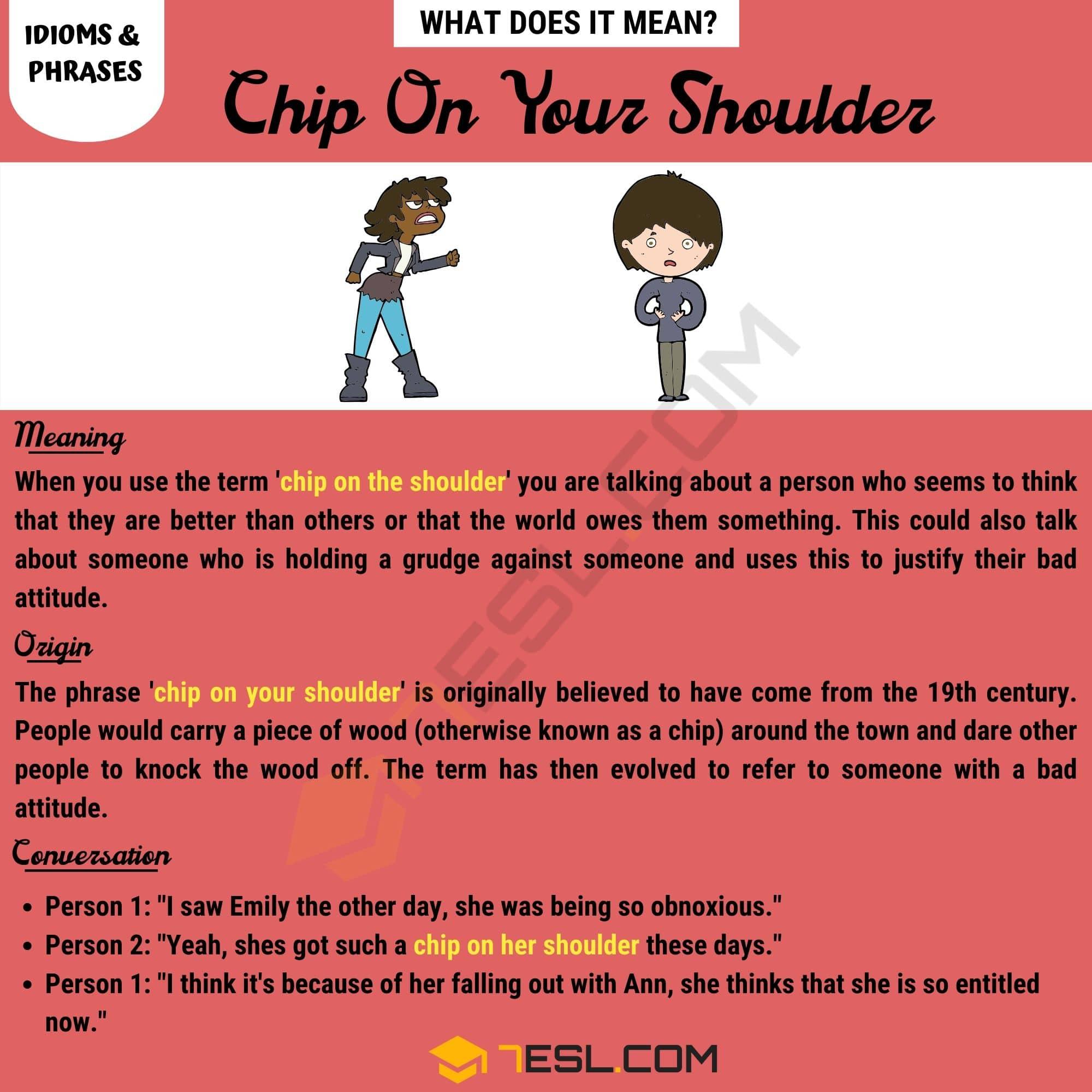 Chip On Your Shoulder