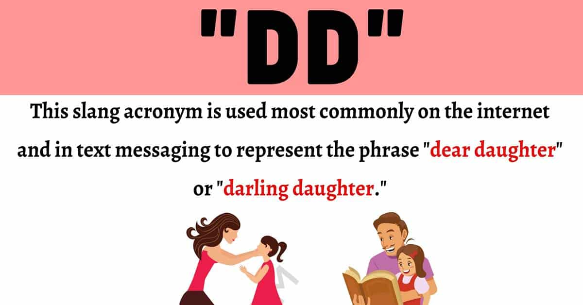 """DD Meaning: What Does This Lovely Acronym """"DD"""" Stand For? 1"""