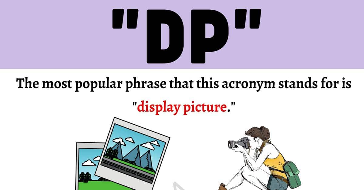 """DP Meaning: What Does """"DP"""" Mean and Stand For? with Useful Examples 1"""