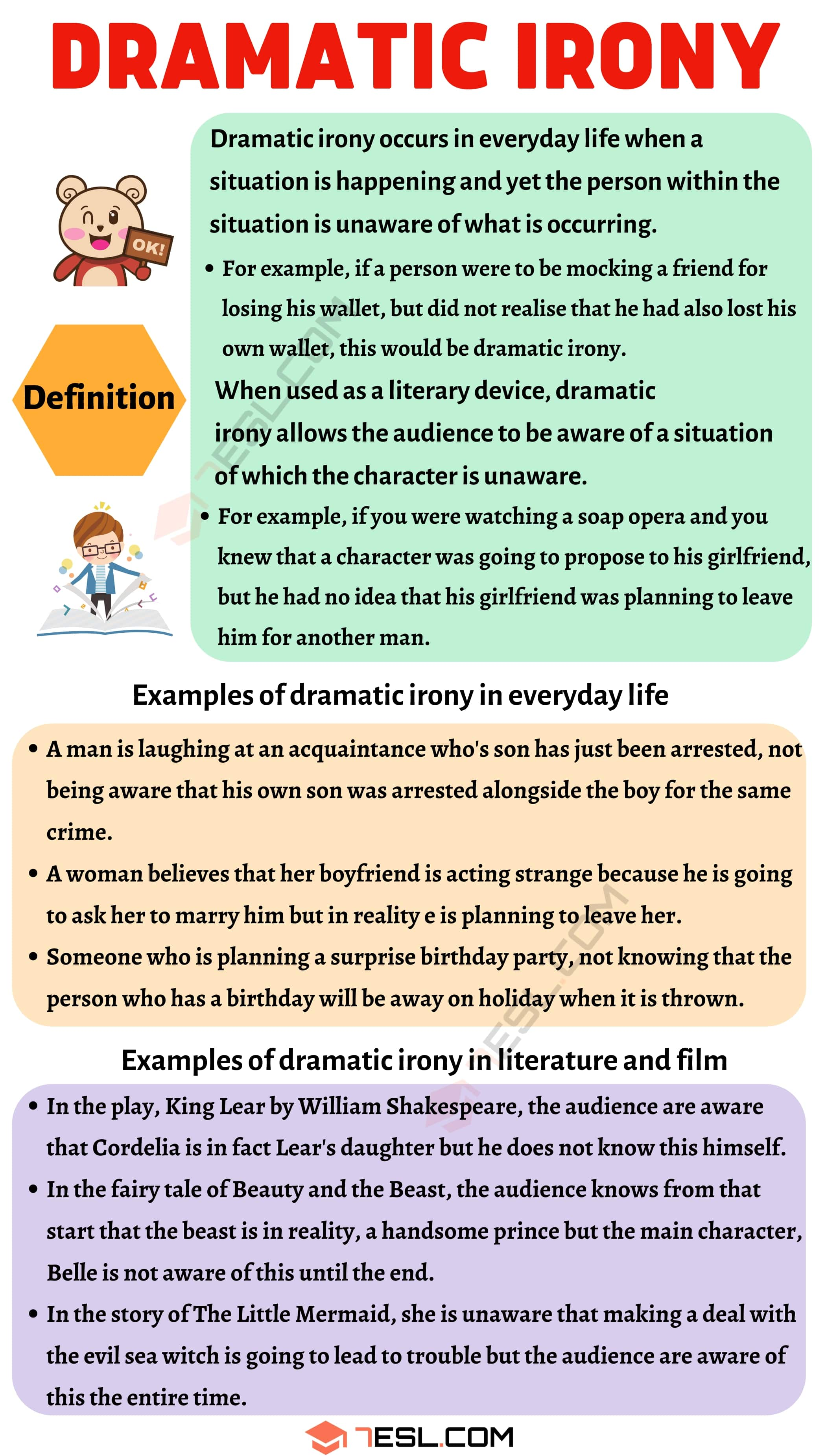 Dramatic Irony Definition and Useful Examples