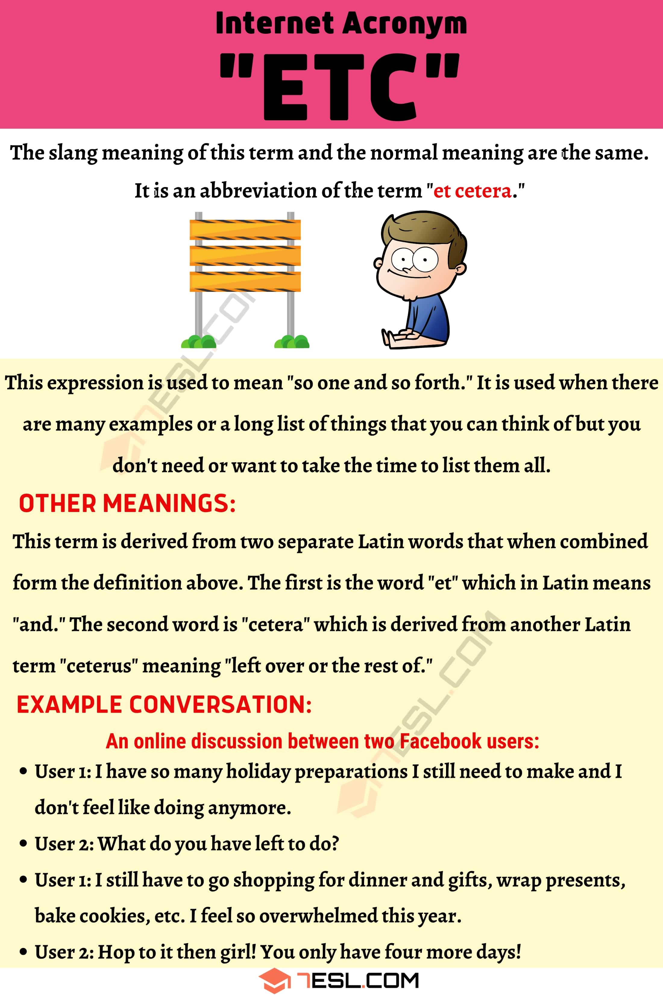 """ETC Meaning: How to Use The Useful Term """"ETC"""" Correctly?"""