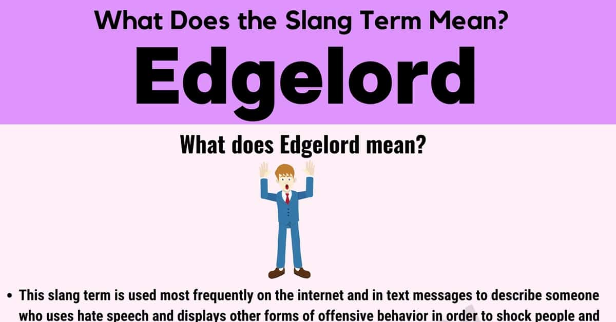 """Edgelord Meaning: What Does the Slang Term """"Edgelord"""" Mean? 1"""