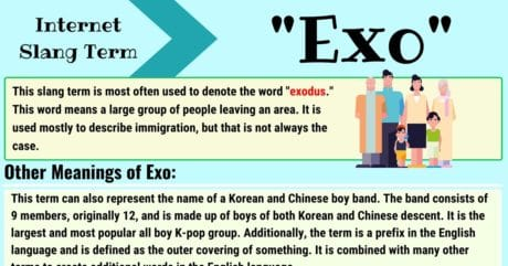 Exo Meaning: What Does the Term EXO Mean and Stand for?