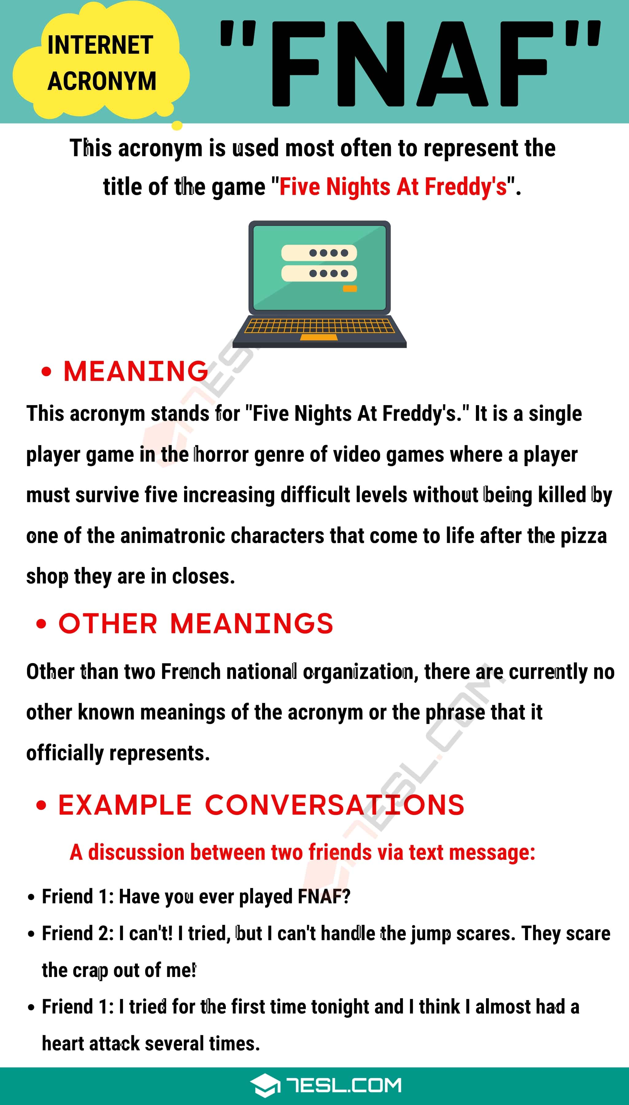 "FNAF Meaning: What Does This Useful Acronym ""FNAF"" Stand For?"