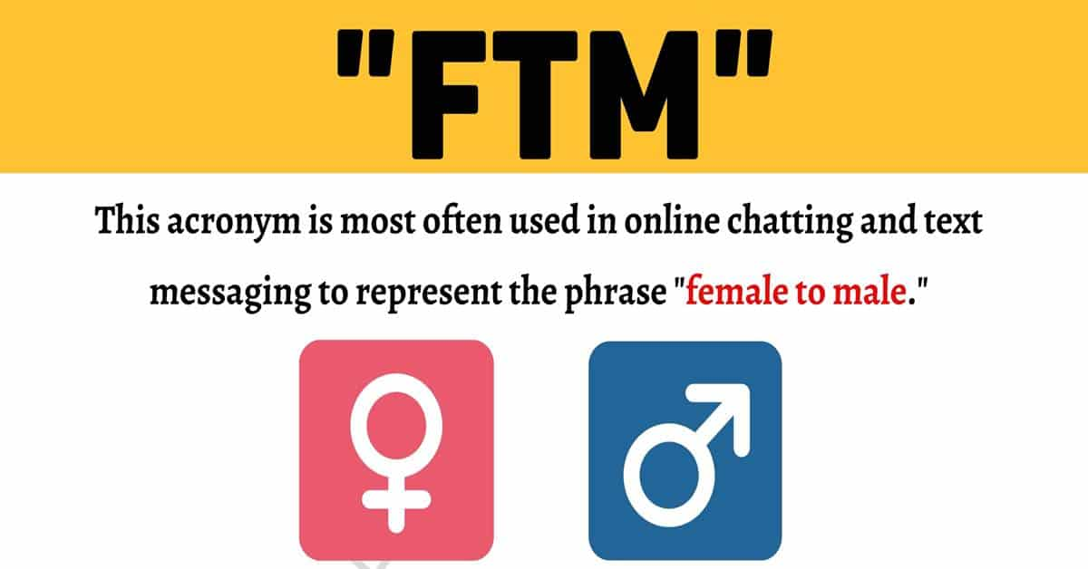 FTM Meaning: What Does This Slang Acronym Mean and Stand For? 1