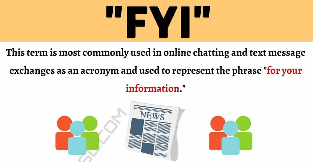 """FYI Meaning: How to Use the Popular Acronym """"FYI"""" Correctly? 1"""