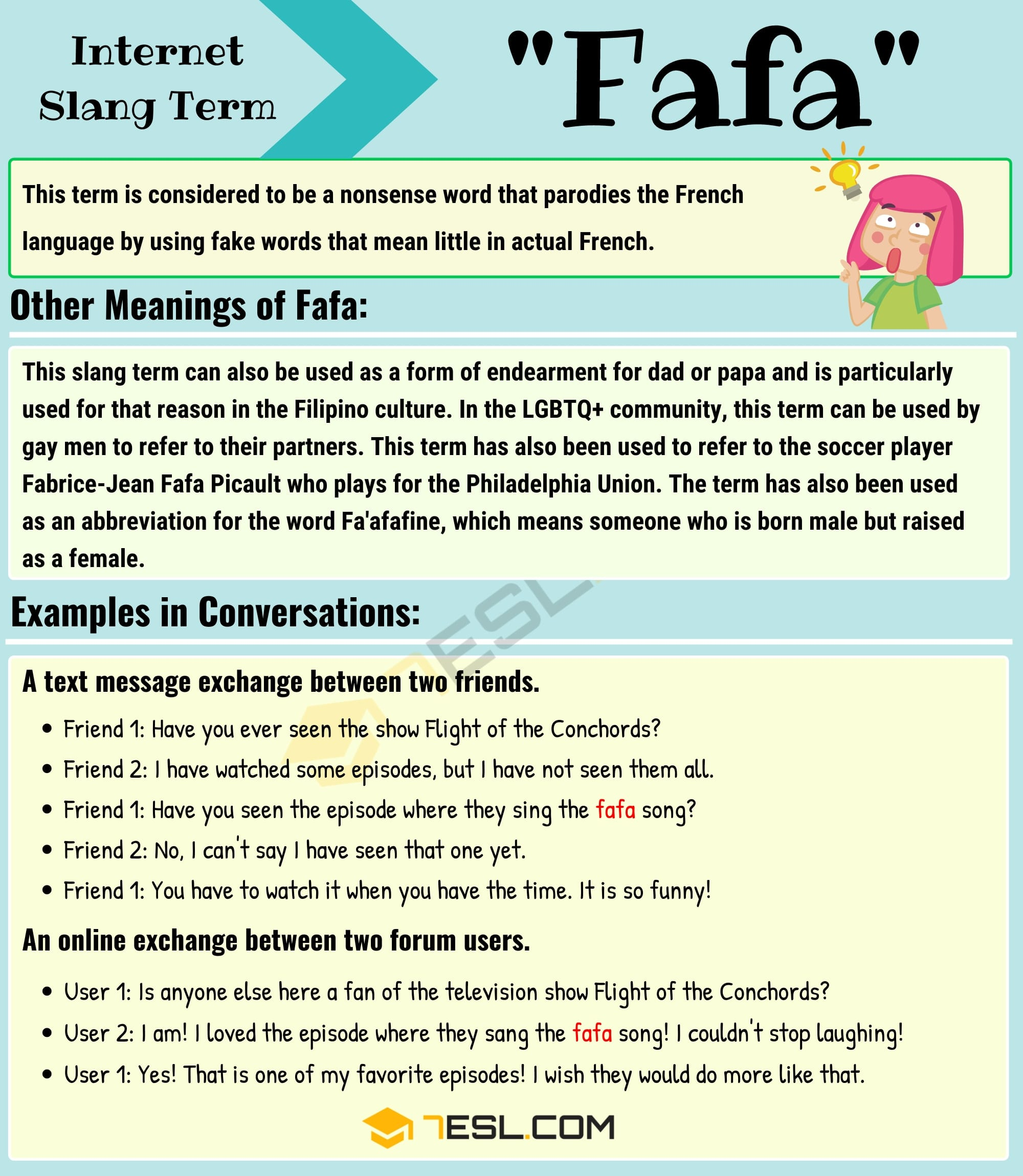 "Fafa Meaning: What Does the Slang Term ""Fafa"" Mean? 2"