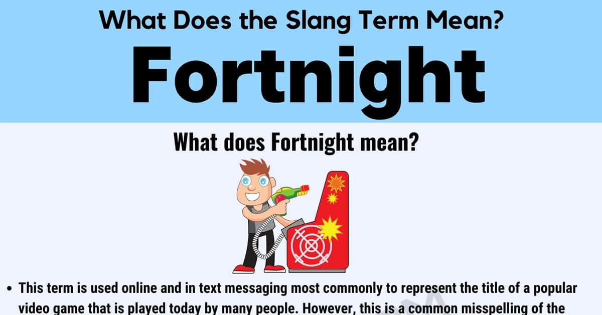 Fortnight Meaning: What Does this Internet Term Mean? 1