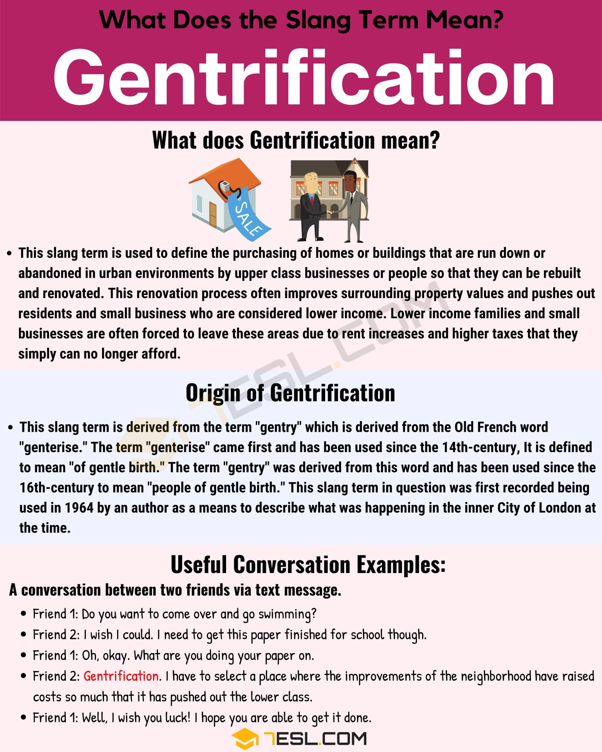 "Gentrification Meaning: What Does the Useful Term ""Gentrification"" Mean? 1"