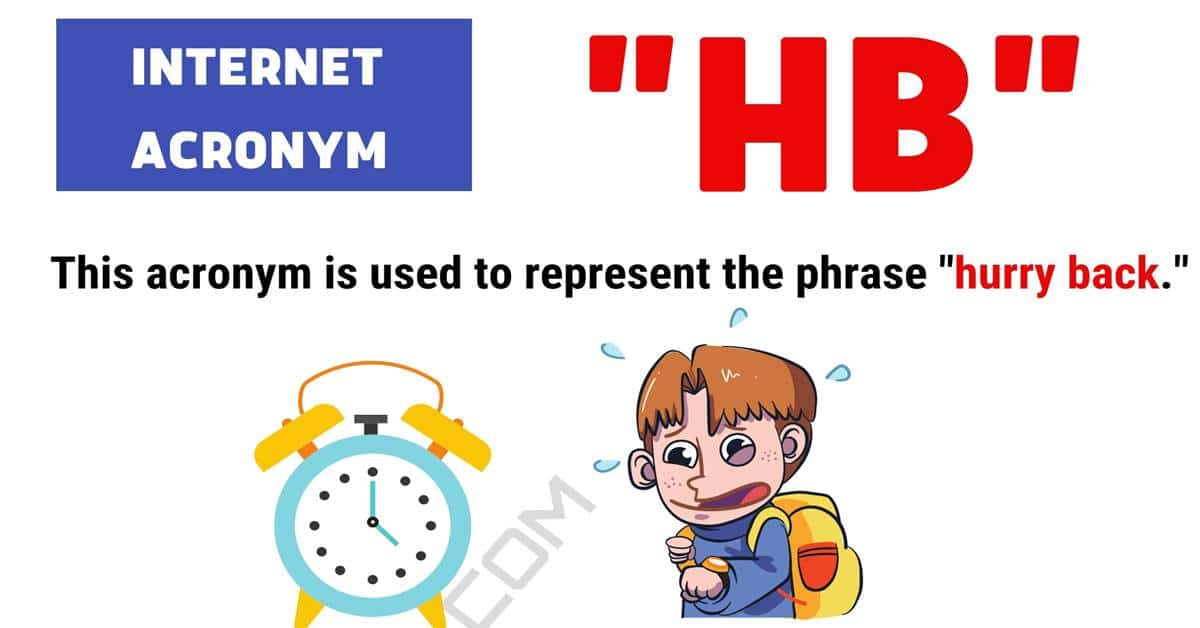"HB Meaning: Examples and Definition of the Acronym ""HB"" 1"