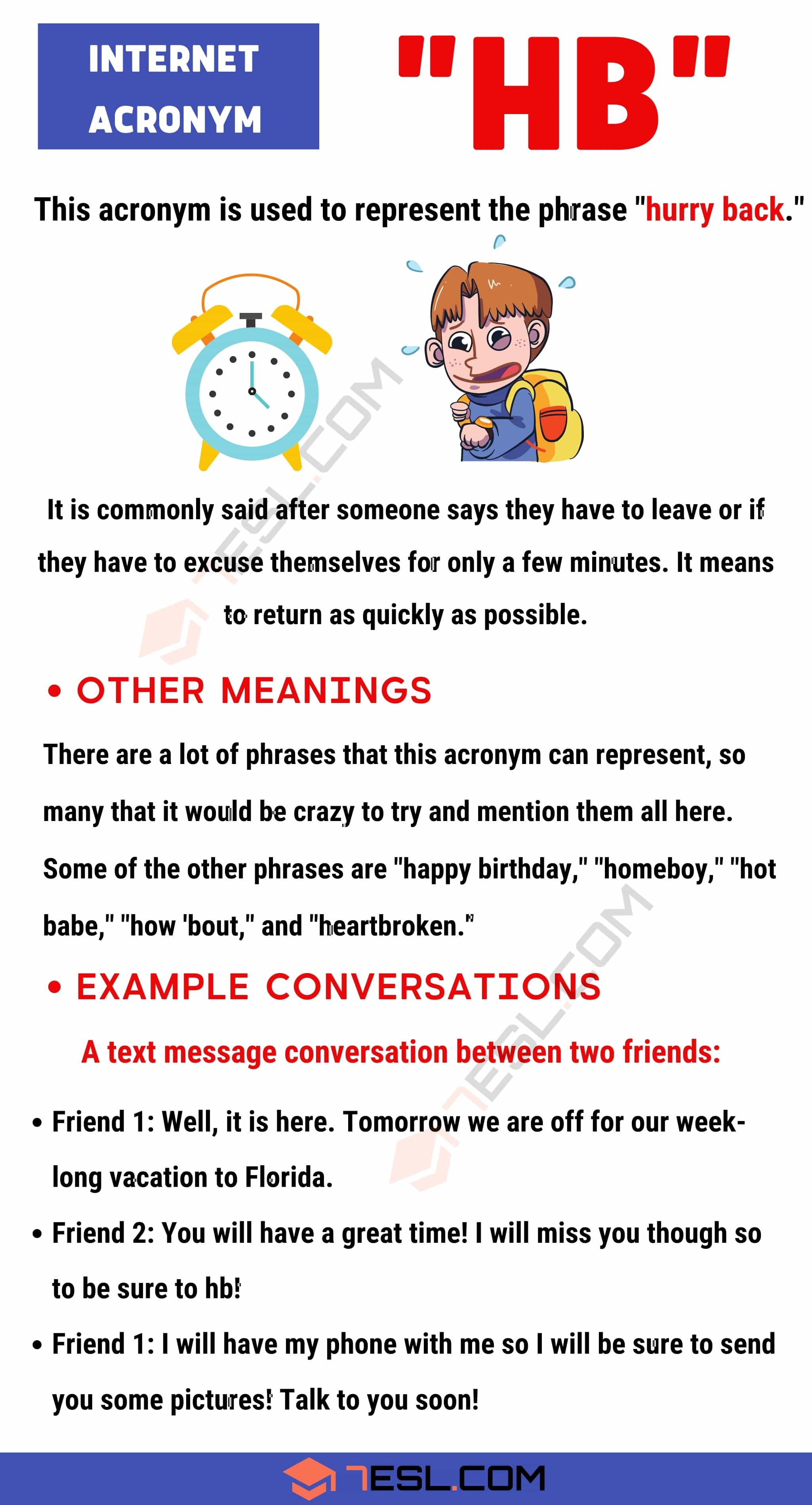 "HB Meaning: The Meaning of ""HB"" with Useful Example Conversations"