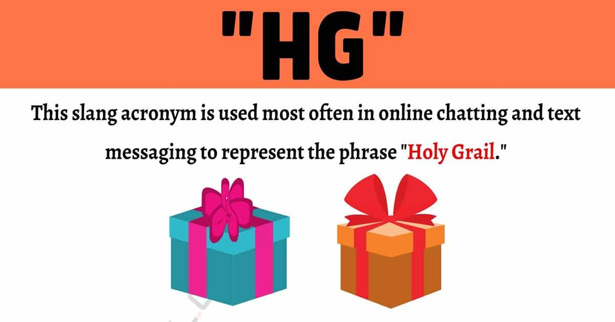 """HG Meaning: What Does The Popular Acronym """"HG"""" Mean? 1"""