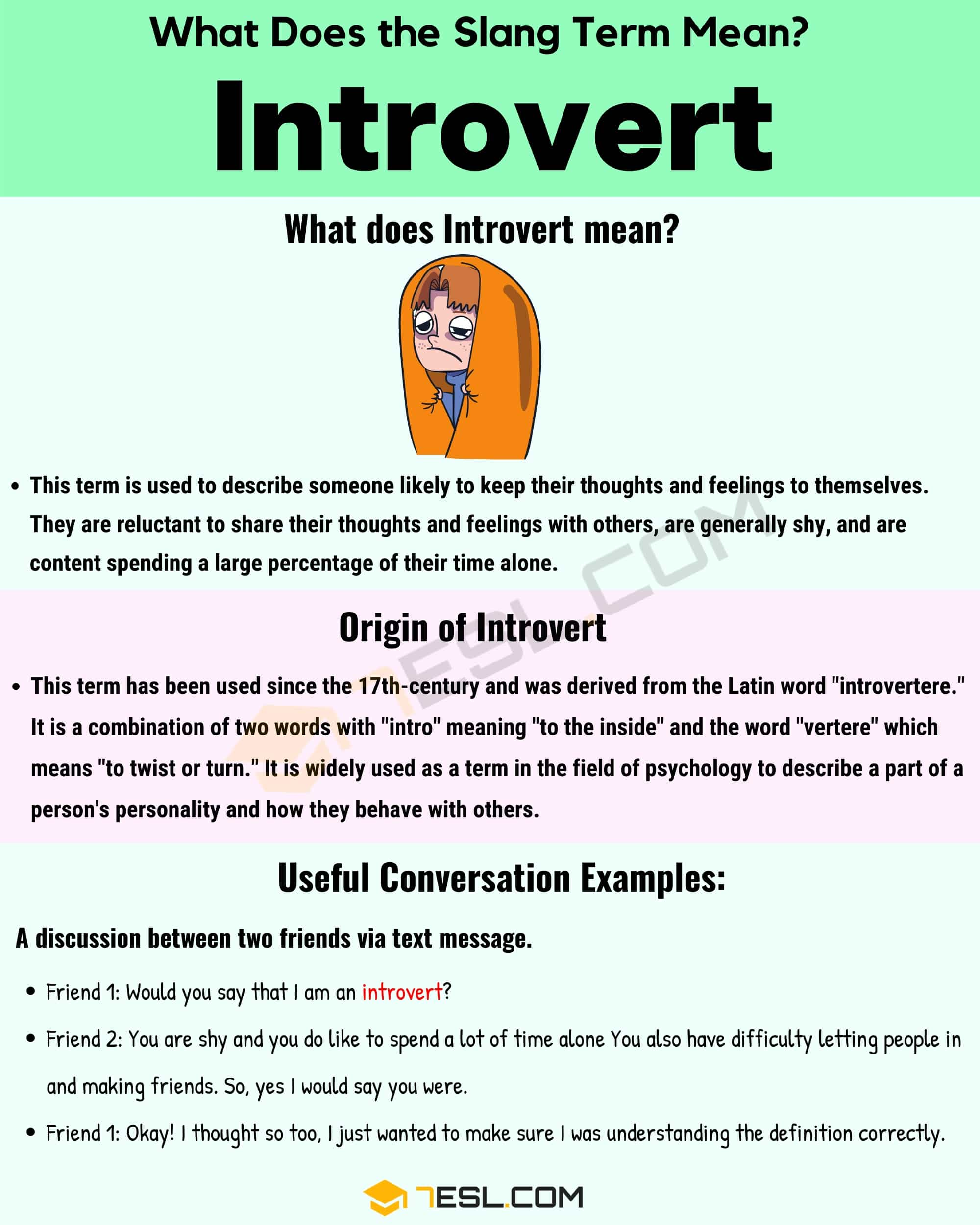 Introvert Meaning: How Do You Define the Interesting Slang ...