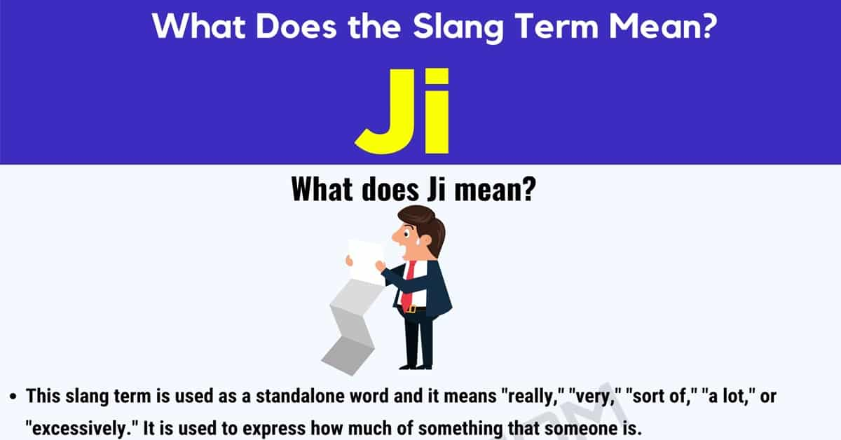 """Ji Meaning: What Does the Popular Term """"ji"""" Mean and Stand for? 1"""