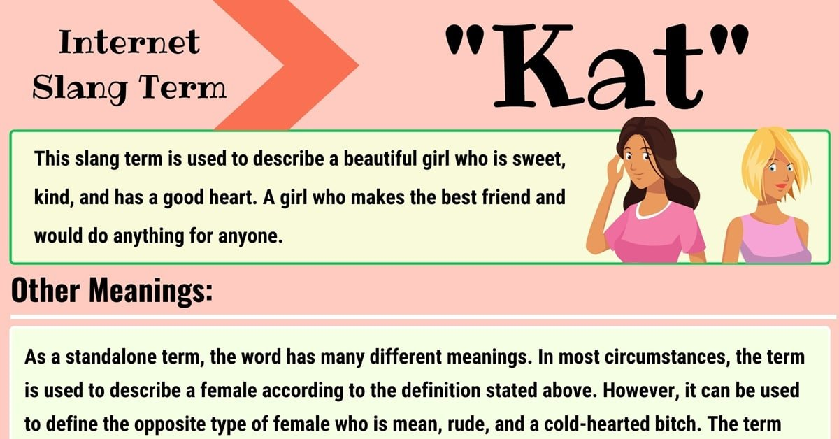 """Kat"" Meaning 