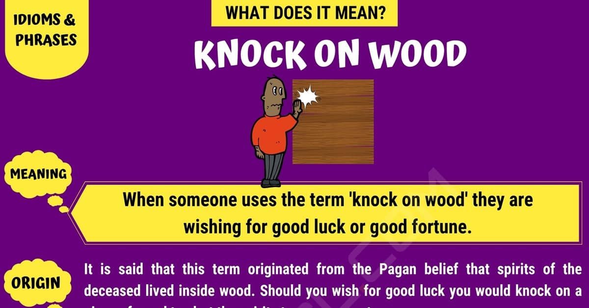 Knock on Wood
