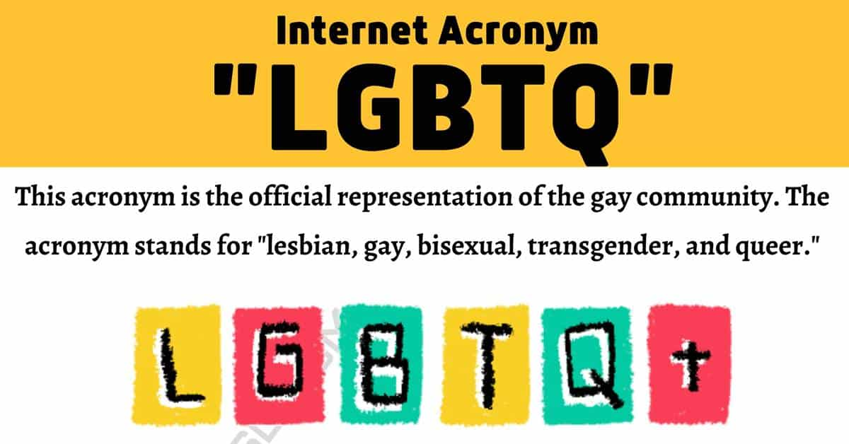 LGBTQ Meaning: What Does This Popular Acronym Mean and Stand for? 1