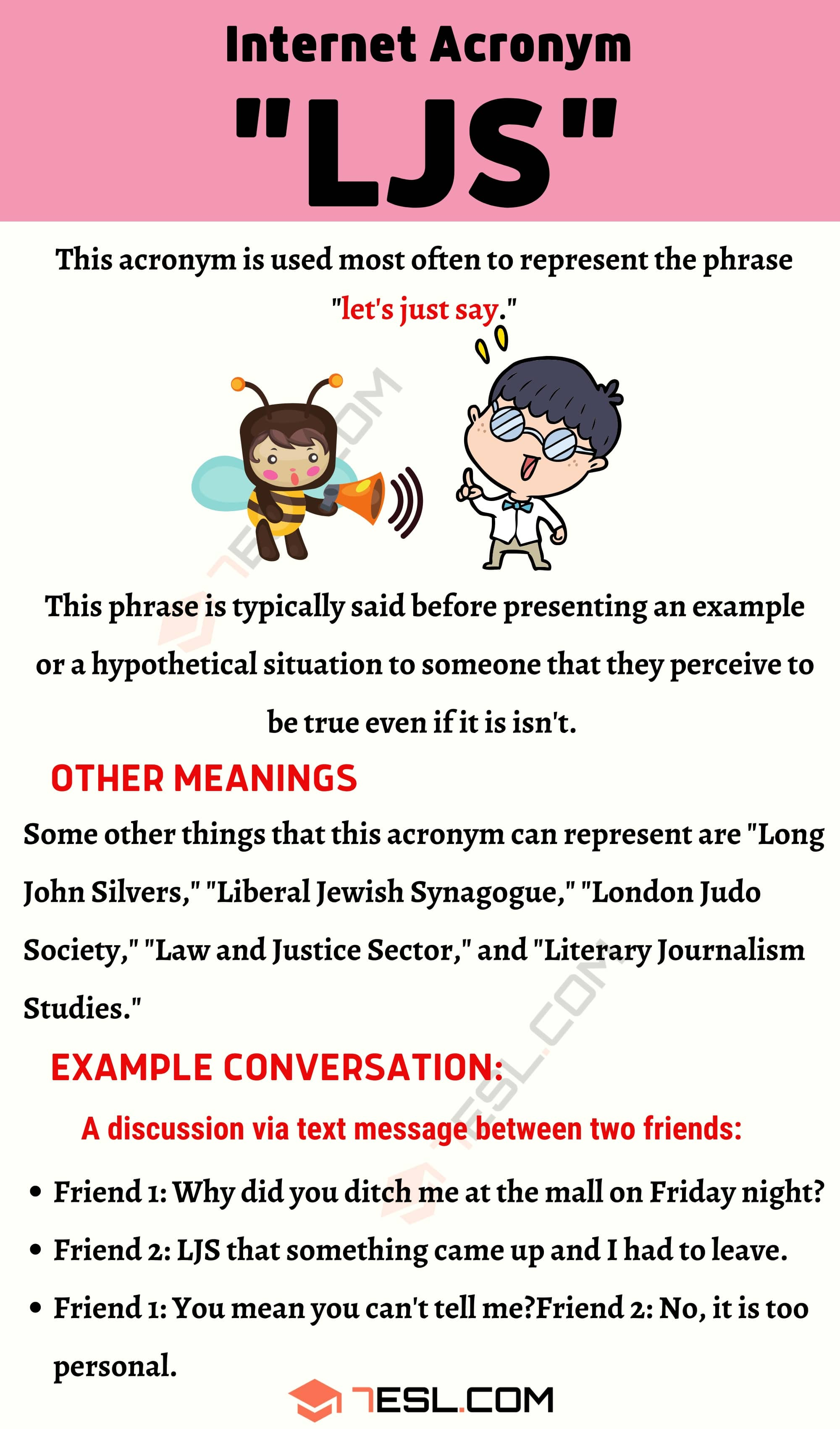 """LJS Meaning: How to Use The Useful Term """"LJS"""" Correctly?"""