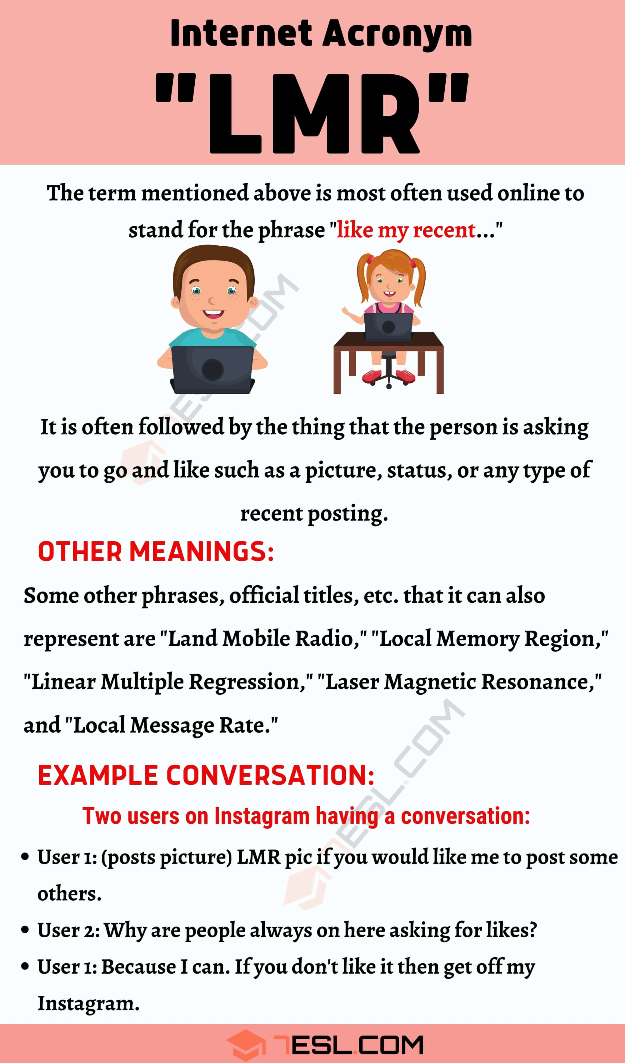 """LMR Meaning: What Does """"LMR"""" Mean? How to Use It Correctly?"""