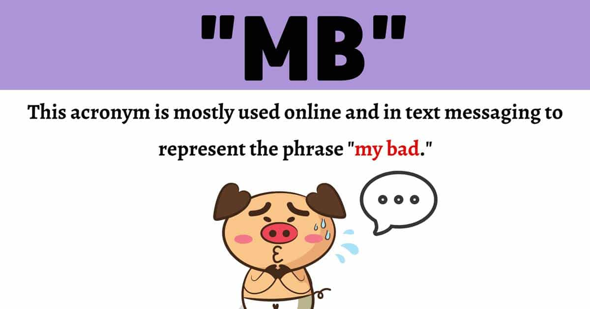 """MB Meaning: What Does This Popular Acronym """"MB"""" Stand for? 1"""