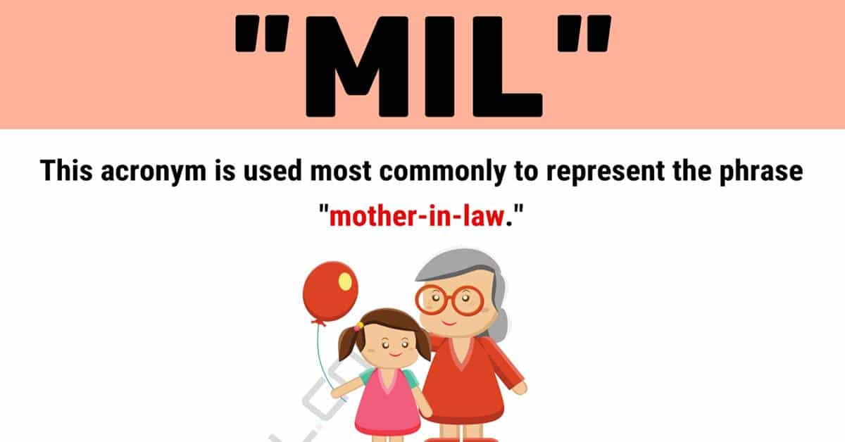 """MIL"" Meaning 
