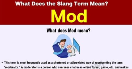 """Mod Meaning: What Does the Popular Term """"Mod"""" Stand for?"""