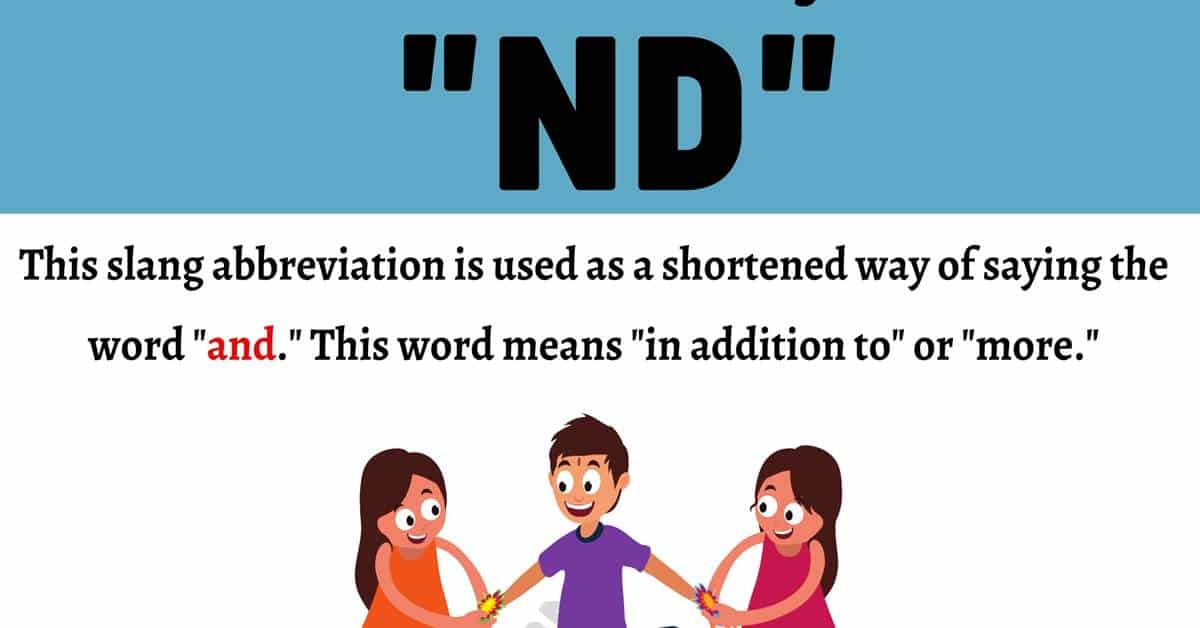 """ND Meaning: What Does the Term """"ND"""" Mean and Stand for? 1"""