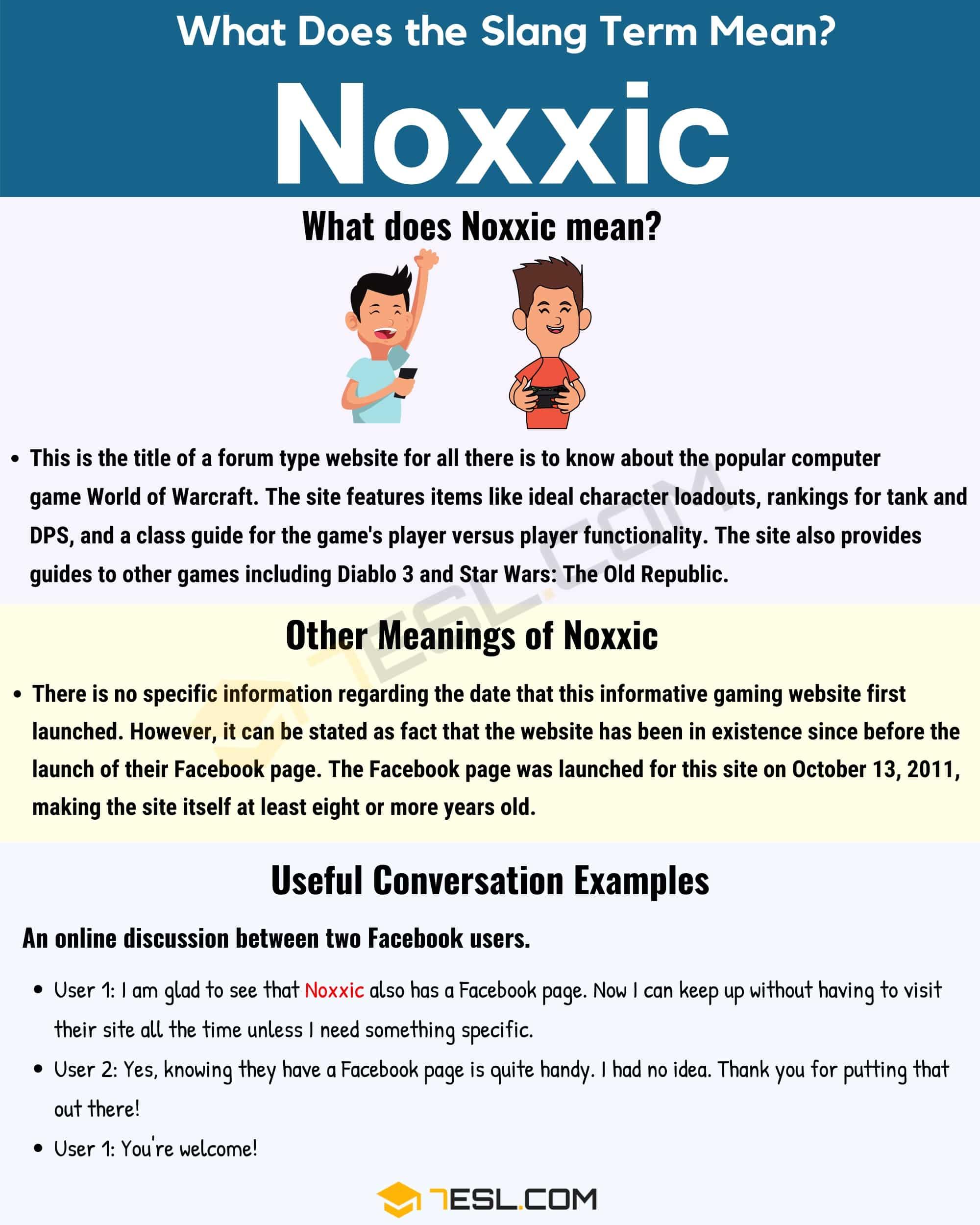 Noxxic