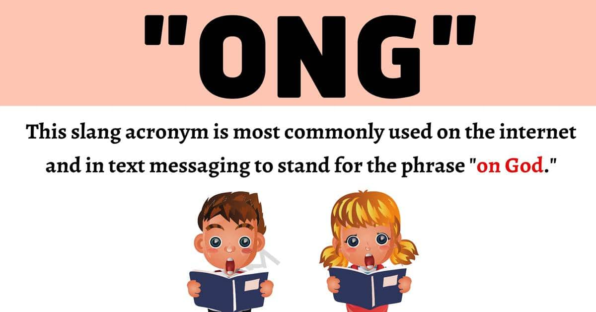 """""""ONG"""" Meaning 