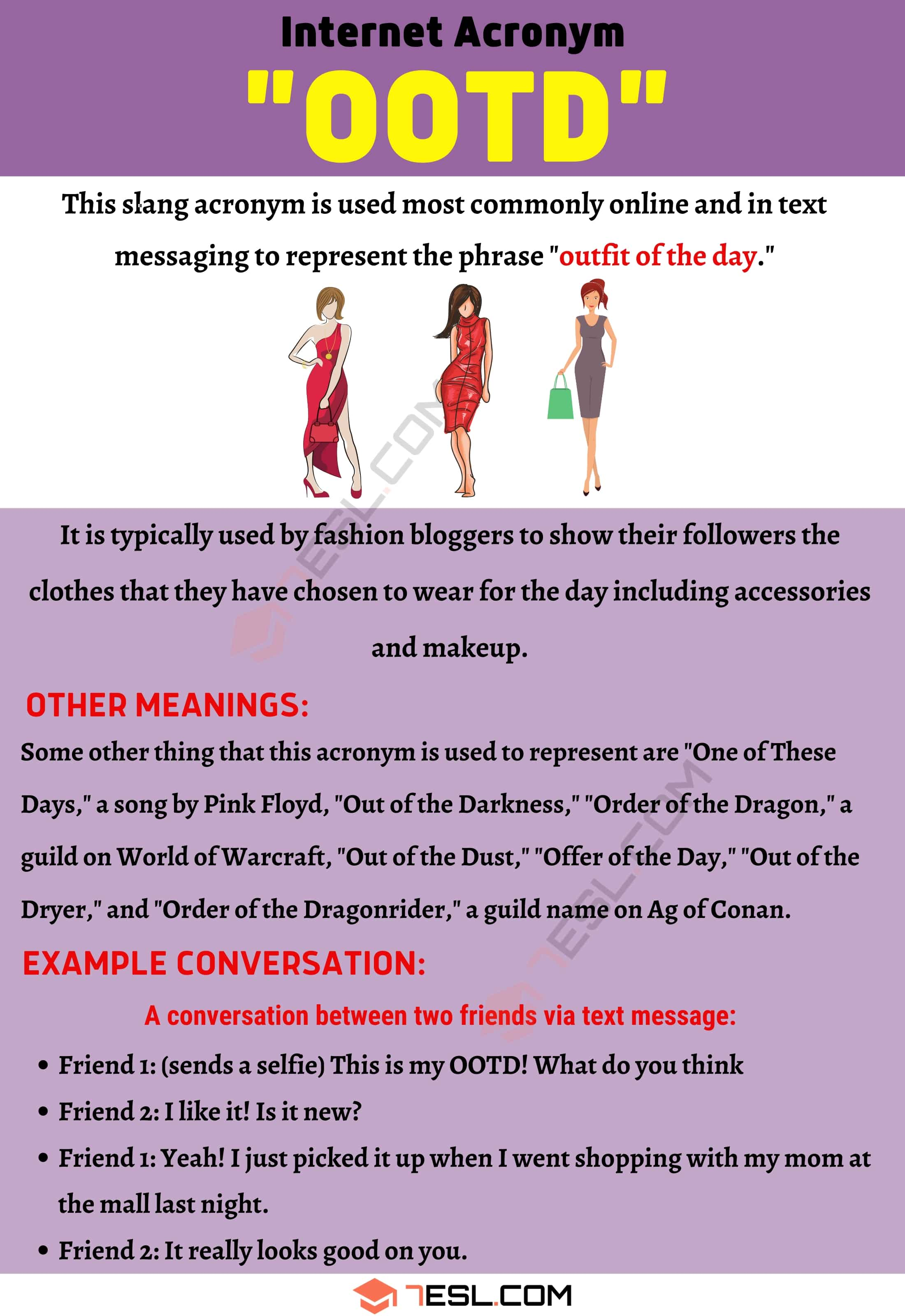 OOTD Meaning: What in The World Does This Trendy Acronym Mean?