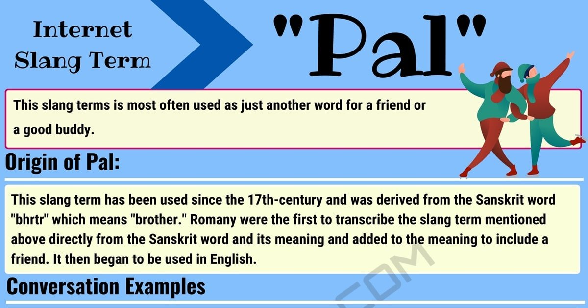 Pal Meaning: What is Pal and When Should You Use It? 1