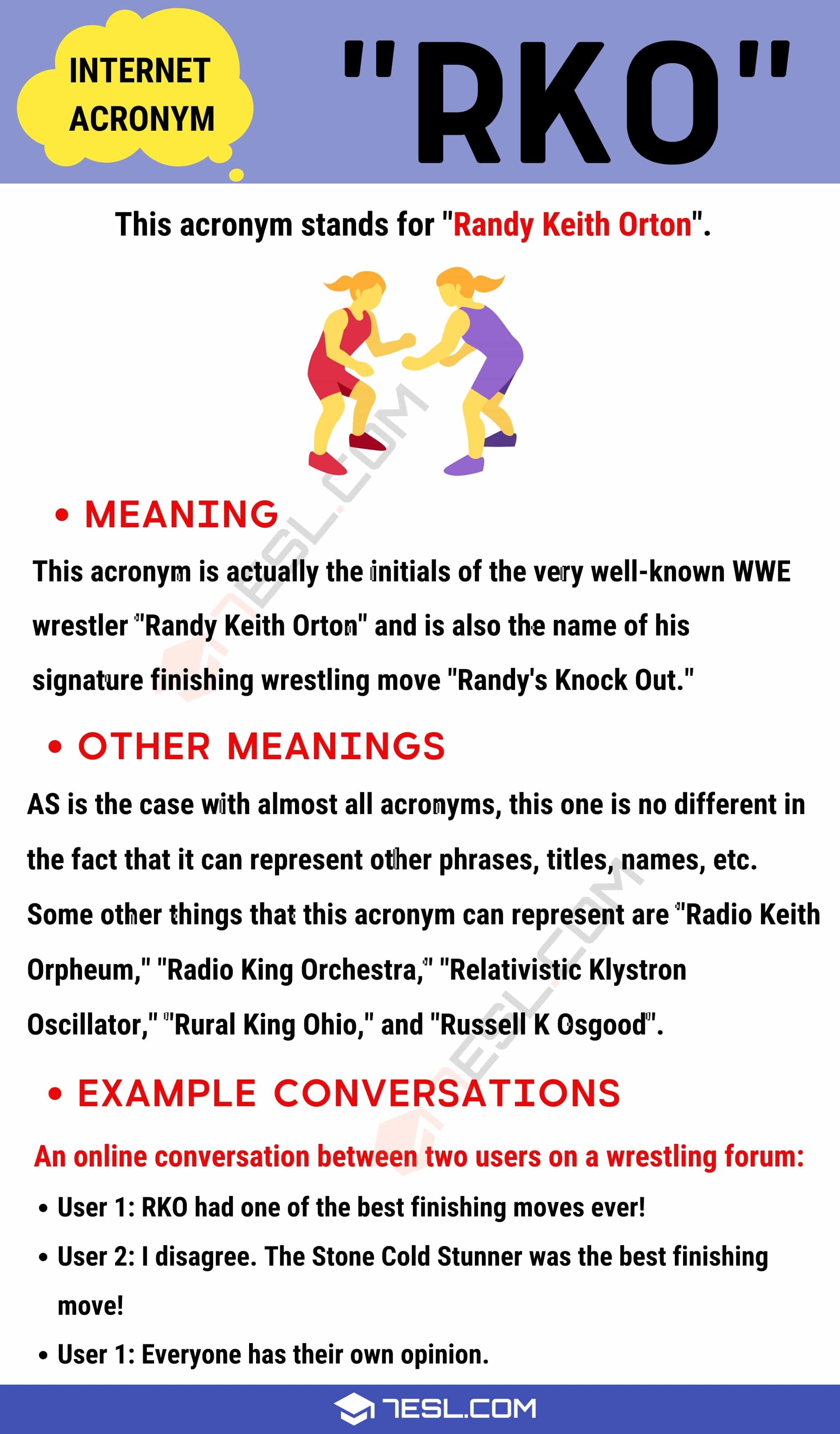 "RKO Meaning: What is The Meaning of Acronym ""RKO""? with Useful Examples"
