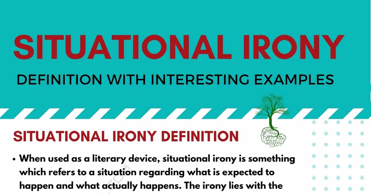 Situational Irony Definition with Interesting Examples 1