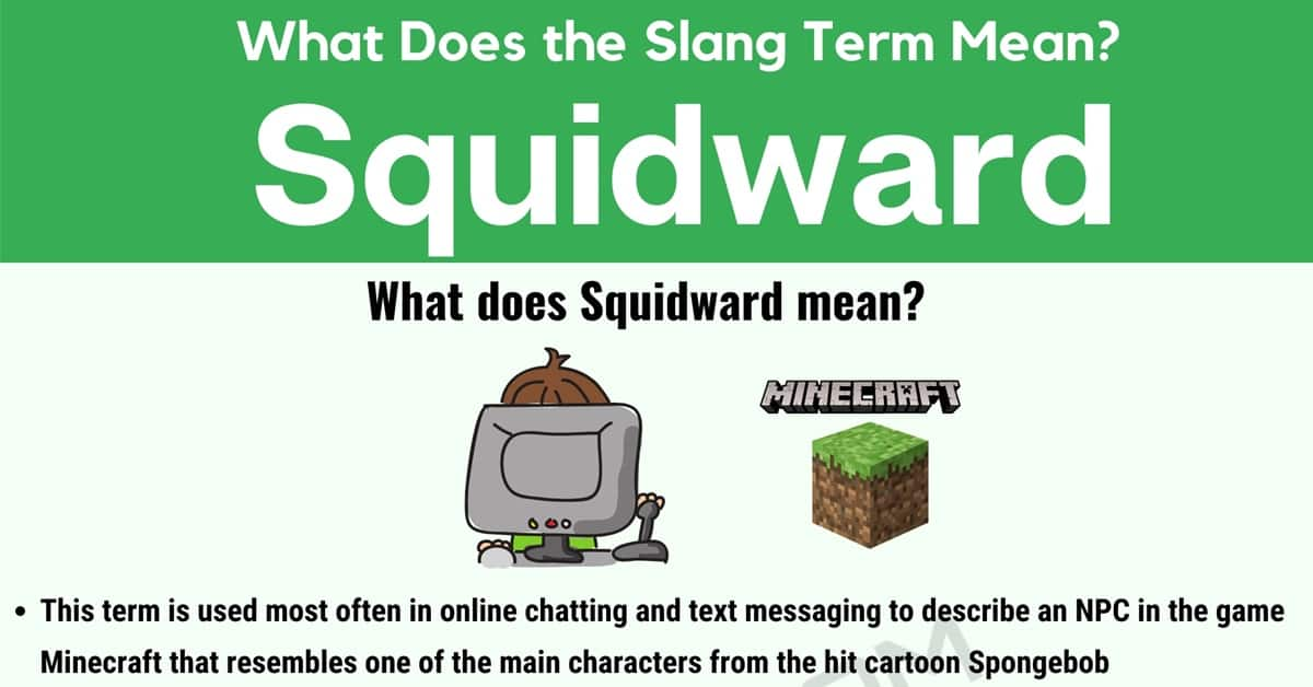 """Squidward Meaning: What Does """"Squidward"""" Mean in Internet Slang? 1"""