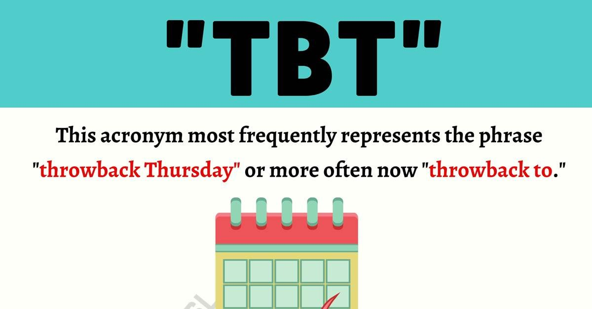 """TBT"" Meaning 
