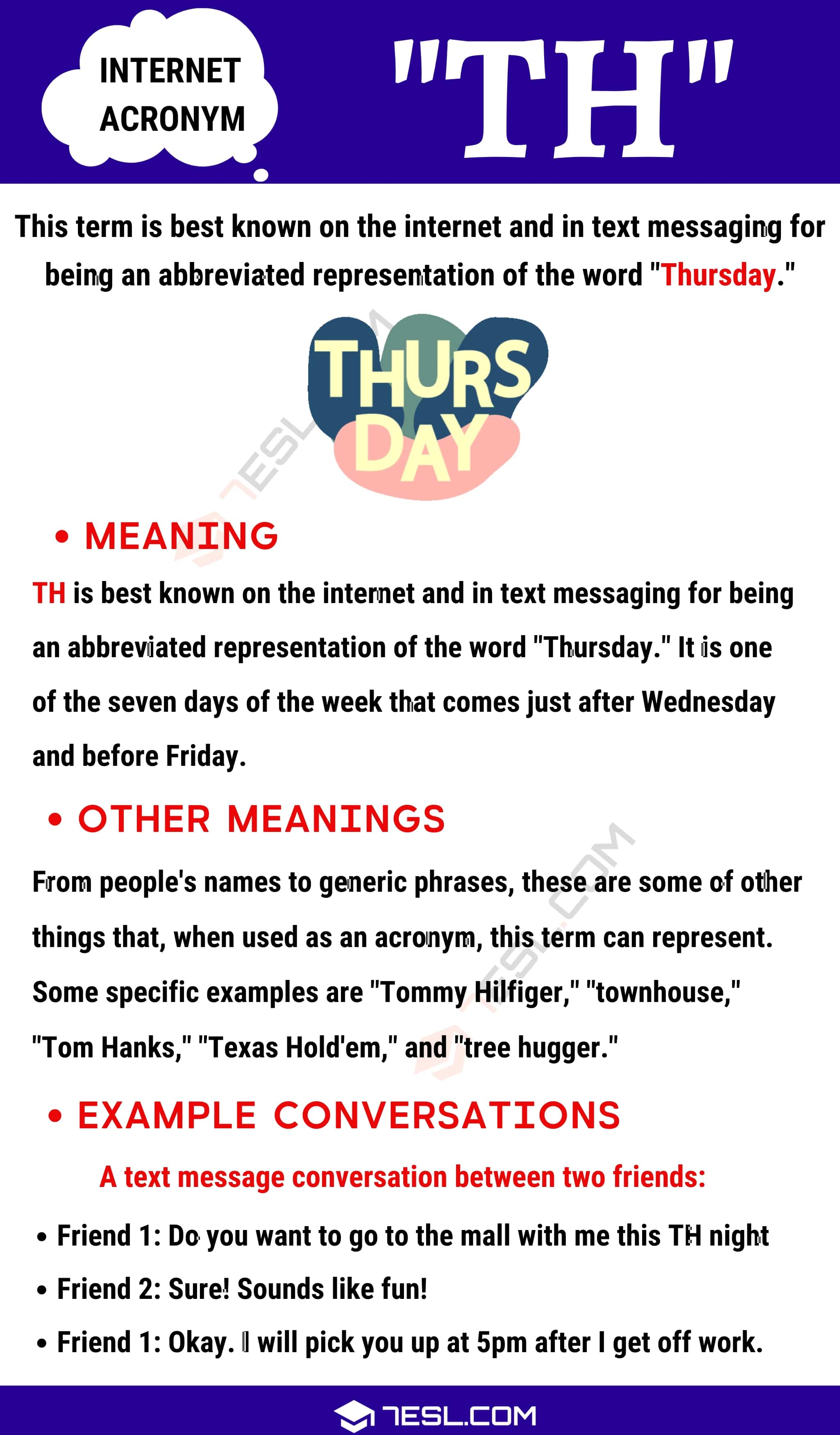 "TH Meaning: What Does The Trendy Term ""TH"" Stand For?"