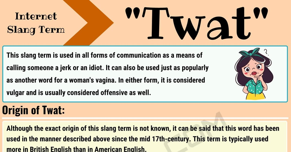 """Twat Meaning: What Does this Internet Slang Term """"twat"""" Mean? 1"""