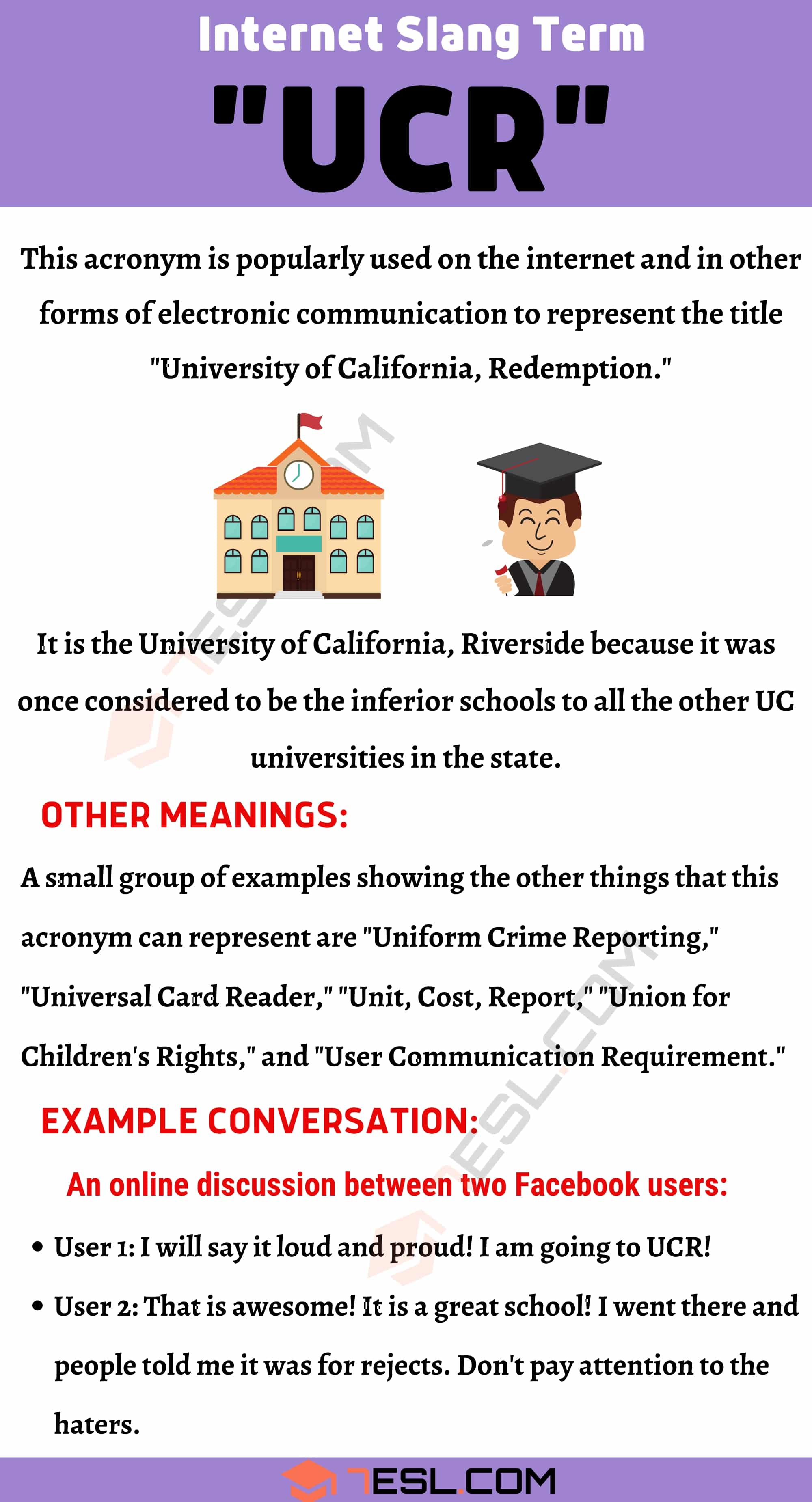 """UCR Meaning: How Do You Define the Acronym """"UCR""""?"""