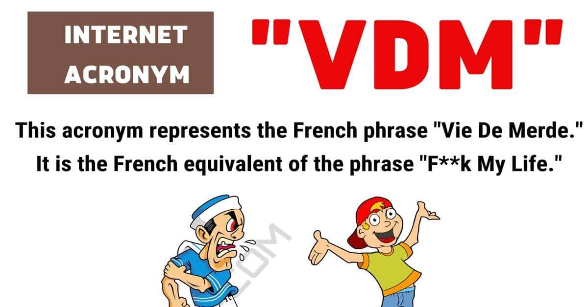 "VDM Meaning: What Does The Term ""VDM"" Mean and Stand For? 1"