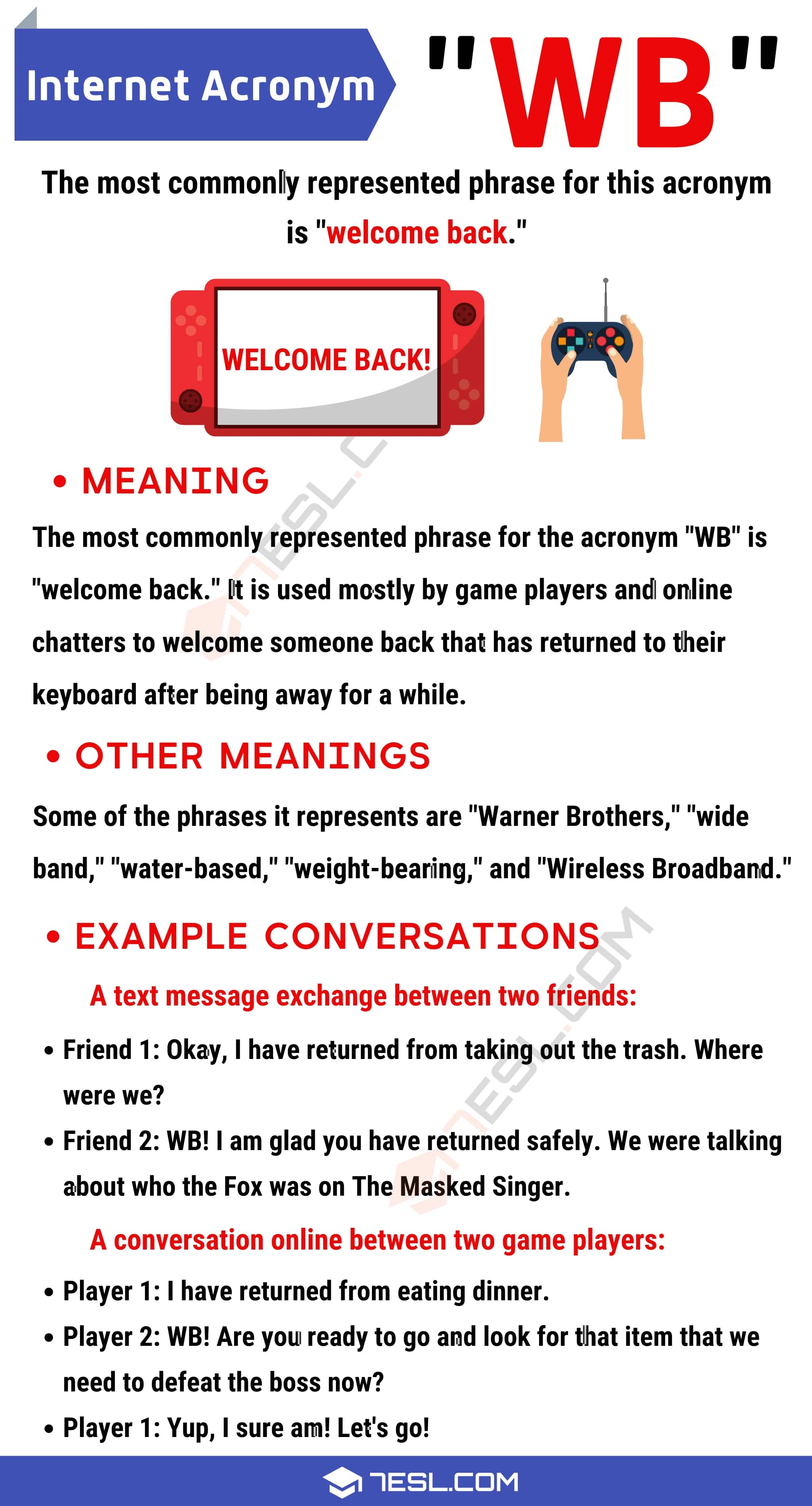 WB Meaning: The Definition of WB and How to Use It Correctly