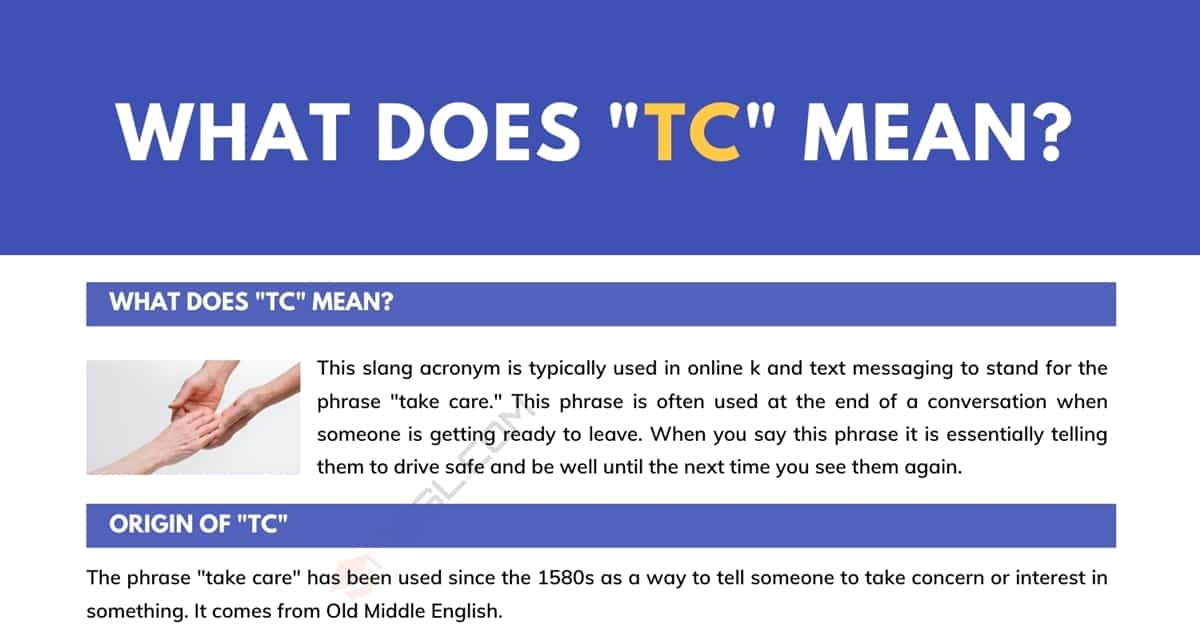 """""""TC"""" Meaning: What Does """"TC"""" Mean and Stand for? 4"""