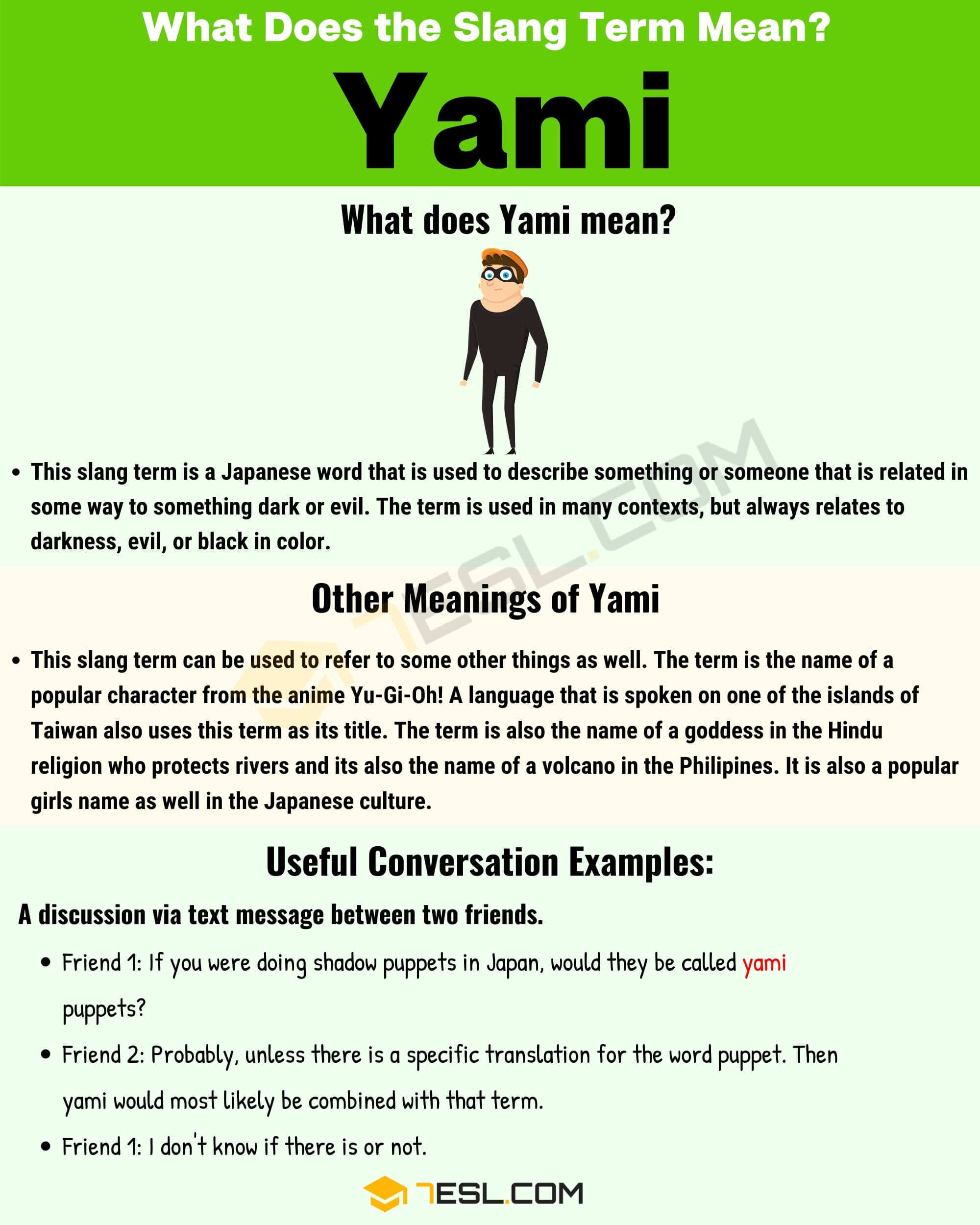 Yami Meaning: How Do You Define the Popular Slang Term 'Yami'? 1