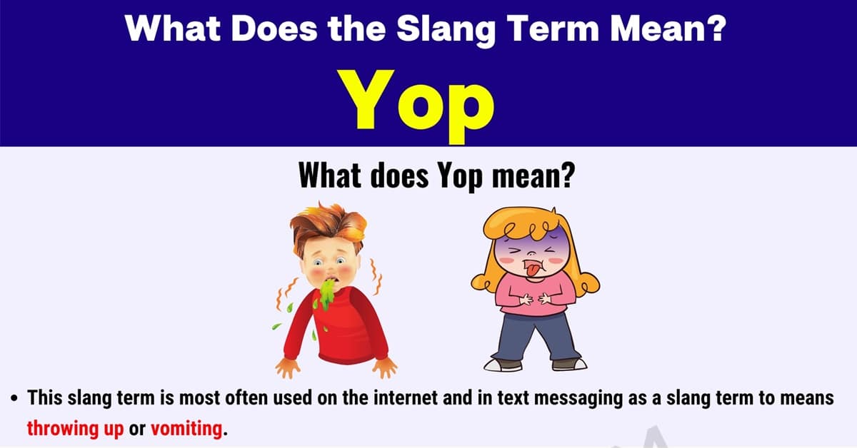 """""""Yop"""" Meaning 