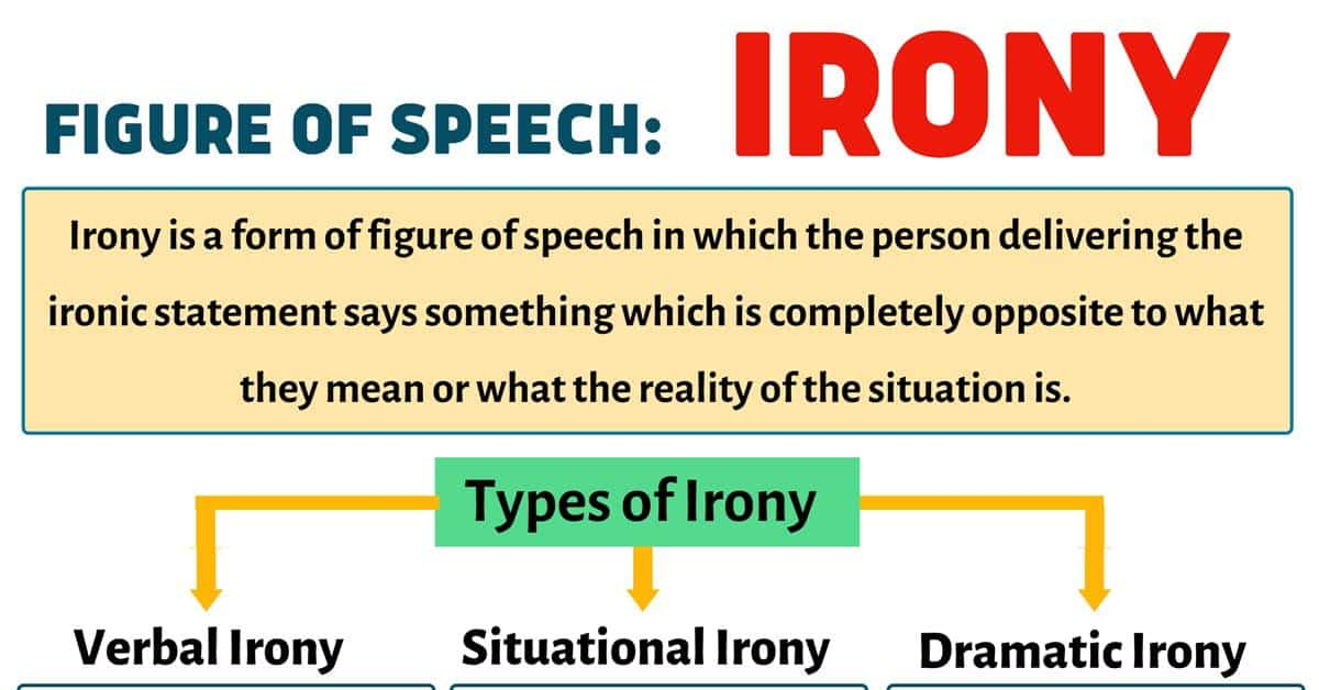 Irony Definition and 03 Types of Irony with Useful Examples 1