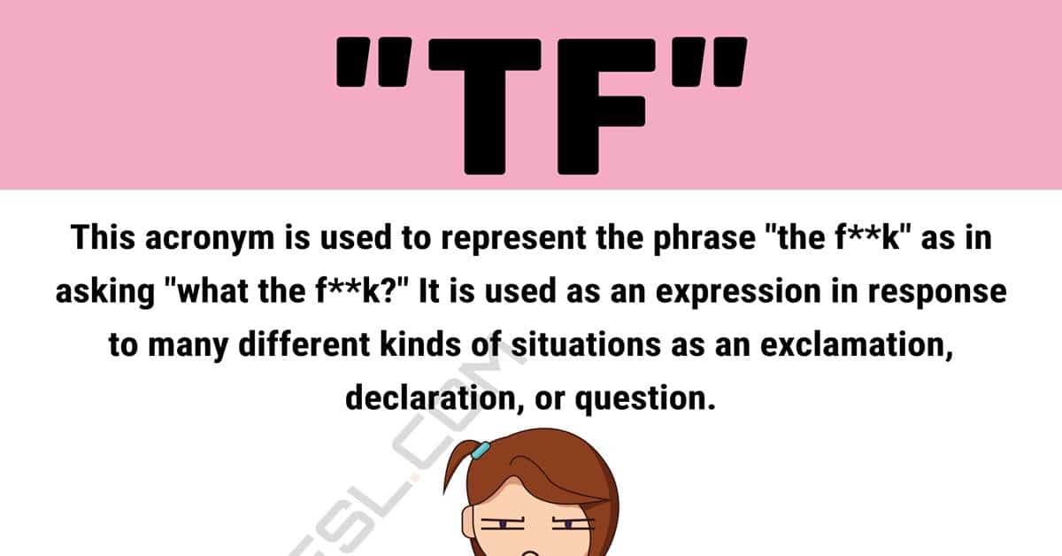 """TF Meaning: How to Use The Popular Internet Term """"TF""""? 1"""