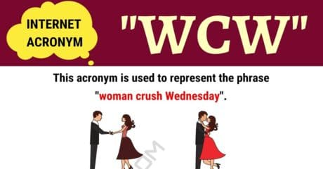 """WCW Meaning: How to Use the Trendy Term """"WCW"""" Correctly?"""