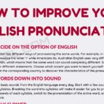 English Pronunciation: How to Improve Your Pronunciation in English