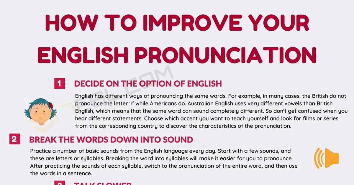 English Pronunciation | How to Improve Your Pronunciation in English 5