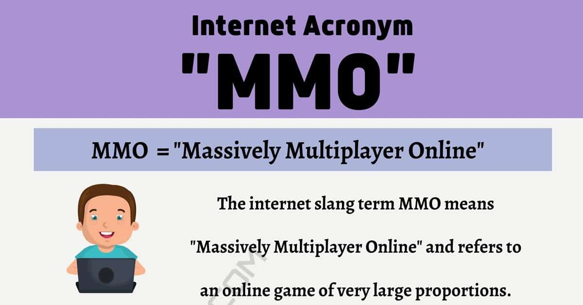 "MMO Meaning: What Does The Trendy Term ""MMO"" Stand For? 1"